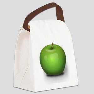 Green Apple Canvas Lunch Bag